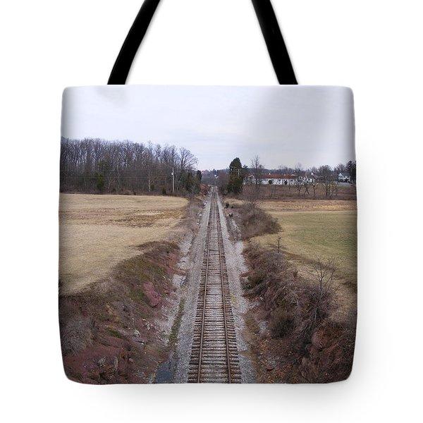 I Hear That Train A Comin' Tote Bag by Adam Cornelison
