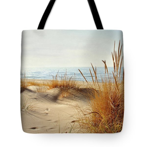 I Hear You Coming  Tote Bag by Kathi Mirto