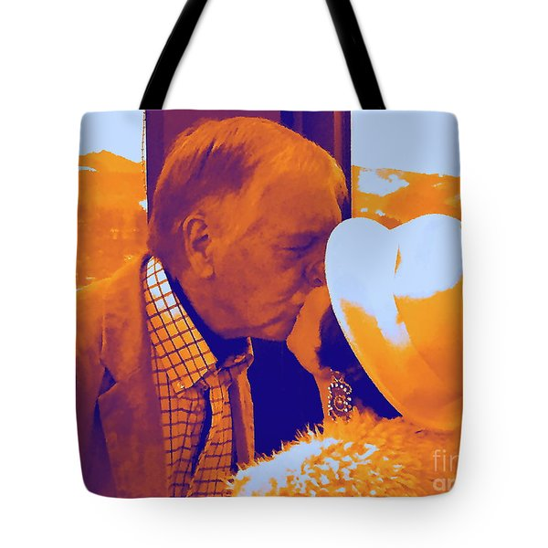 I Knew Two  Tote Bag by Jesse Ciazza