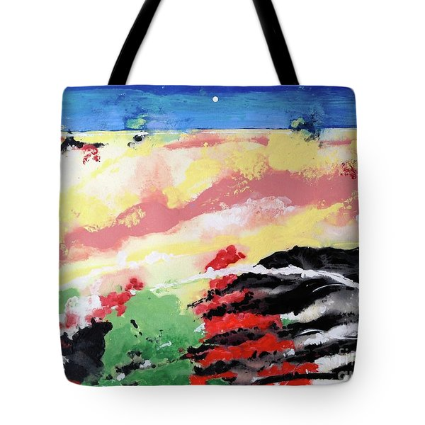 I Know You're Out There Somewhere Tote Bag