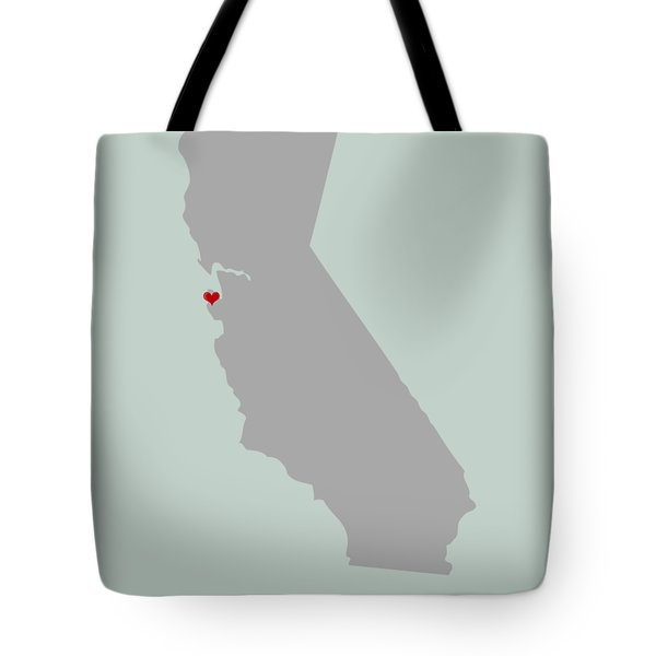 I Left My Heart In Sf Tote Bag