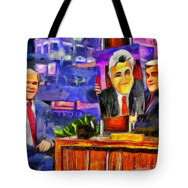 I Like To Paint Dogs Too - Da Tote Bag