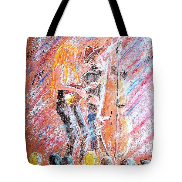 I Love Bluegrass Tote Bag by Bill Holkham