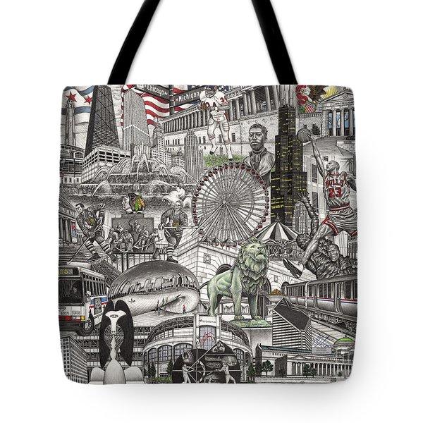 I Love Chicago Volume 2 Tote Bag