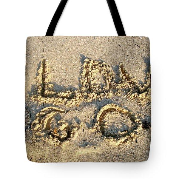 I Love God Tote Bag
