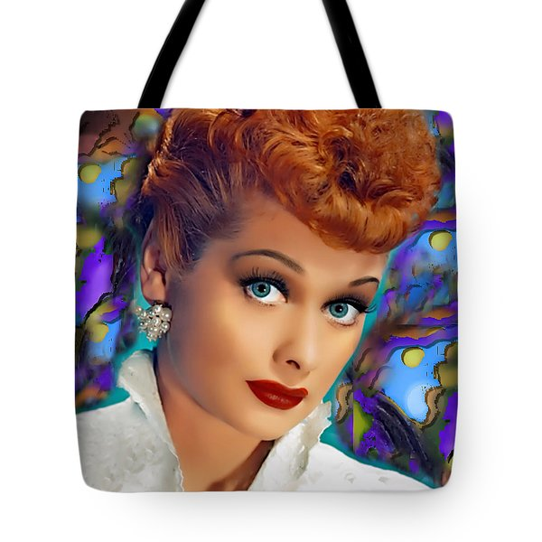 I Love Lucy Tote Bag