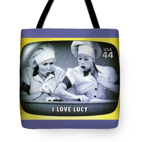 I Love Lucy Tote Bag by Lanjee Chee