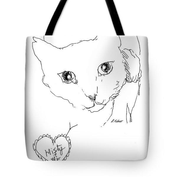 I Love Misty Tote Bag