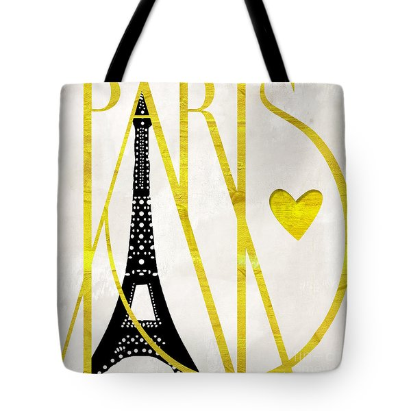 I Love Paris Tote Bag by Mindy Sommers