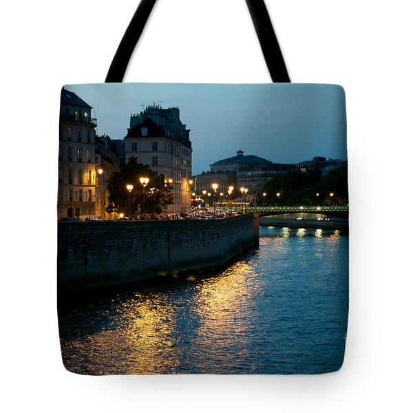 I Love Paris Tote Bag by Sandy Molinaro
