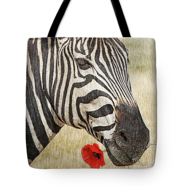 I Love Red Tote Bag by Barbara Dudzinska