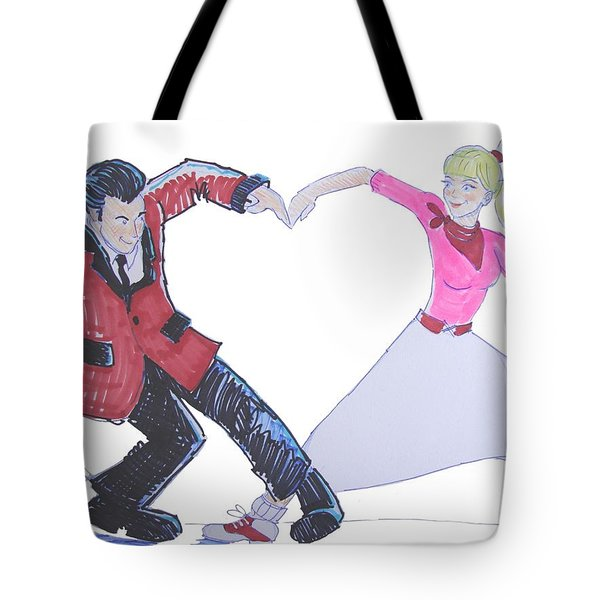 I Love Rock 'n' Roll Tote Bag