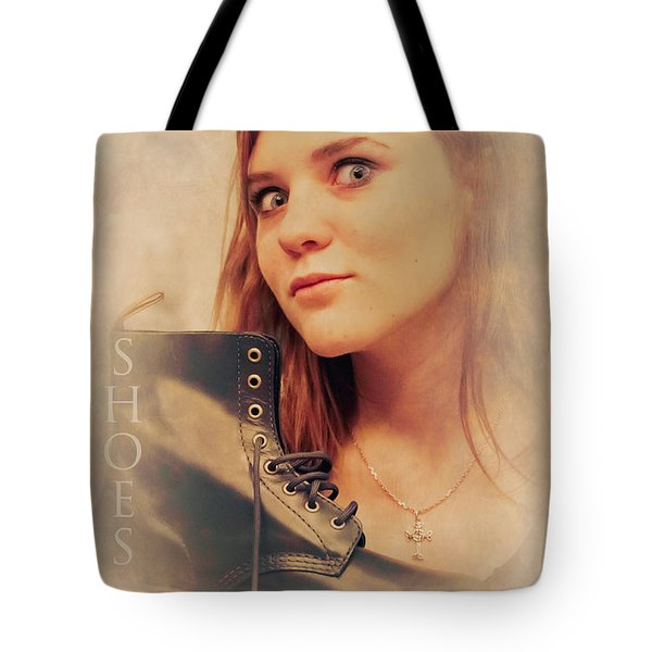I Love Shoes Tote Bag by Loriental Photography