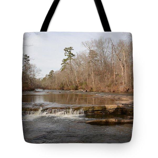 I Love To Go A Wanderin' Yellow River Park -georgia Tote Bag