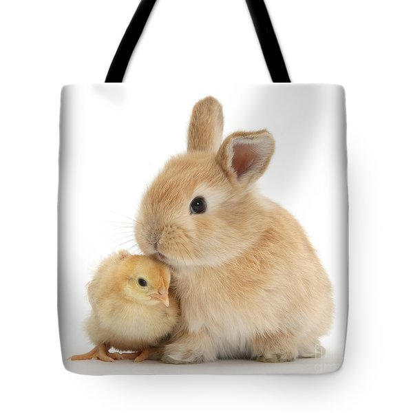 I Love To Kiss The Chicks Tote Bag