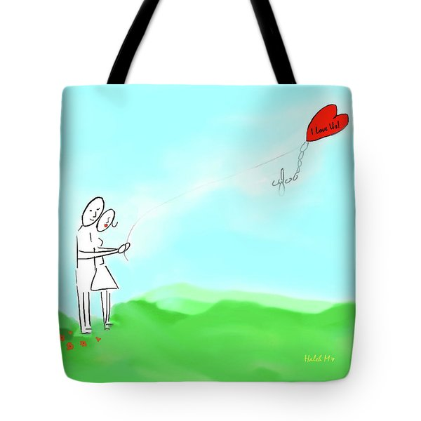 I Love Us Tote Bag