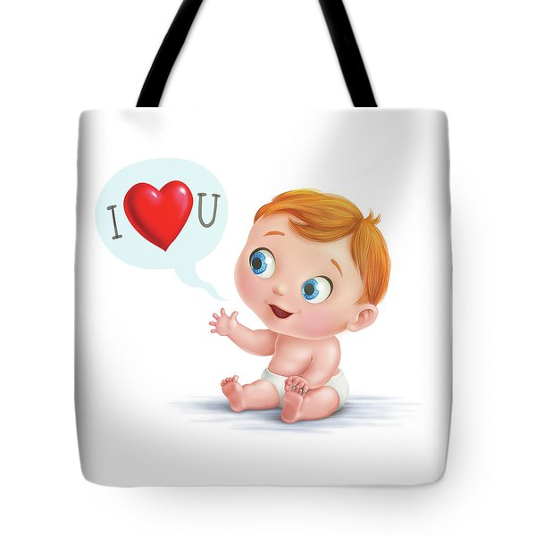 I Love You Baby  Tote Bag