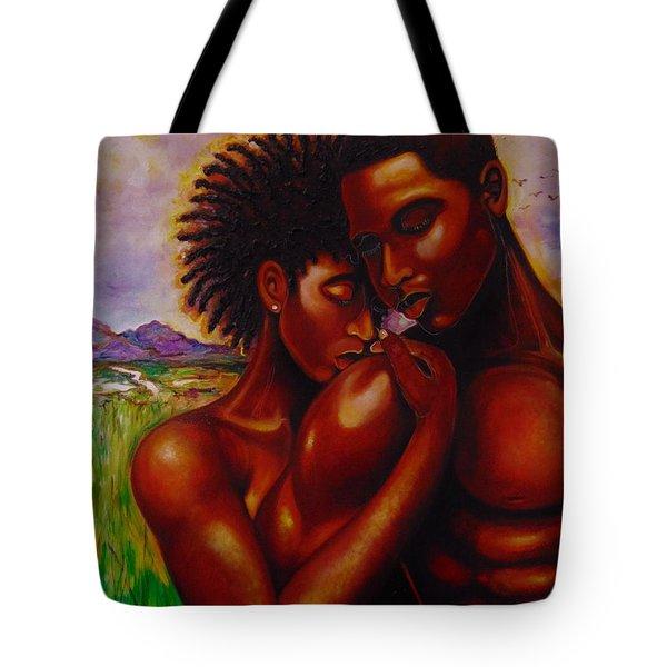 I Love You Tote Bag by Emery Franklin