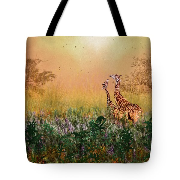 Tote Bag featuring the photograph I Love You Mom by Diane Schuster