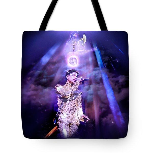 I Love You - Prince Tote Bag by Glenn Feron