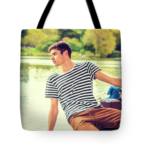 I Missing You And Waiting For You Tote Bag