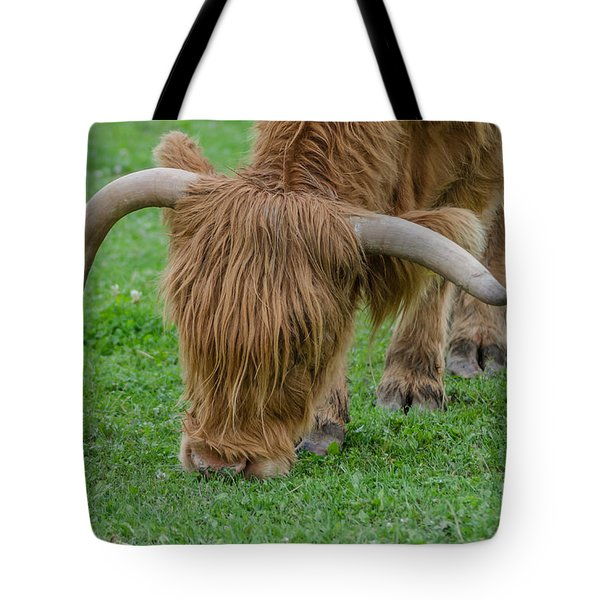 I Need A Haircut Tote Bag by Michelle Meenawong