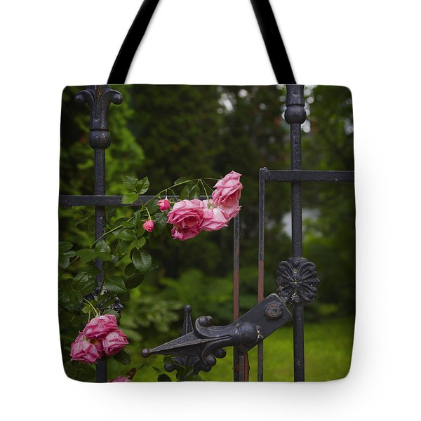 I Never Promised You A Rose Garden Tote Bag