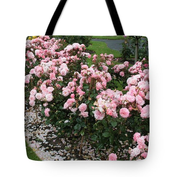 ...........i Never Promised You A Rose Garden Tote Bag by Martina Fagan