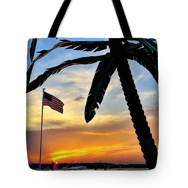 I Never Tire Of Sunsets Tote Bag