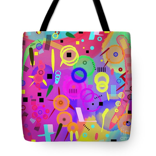 Tote Bag featuring the digital art I Once Was Happy by Silvia Ganora