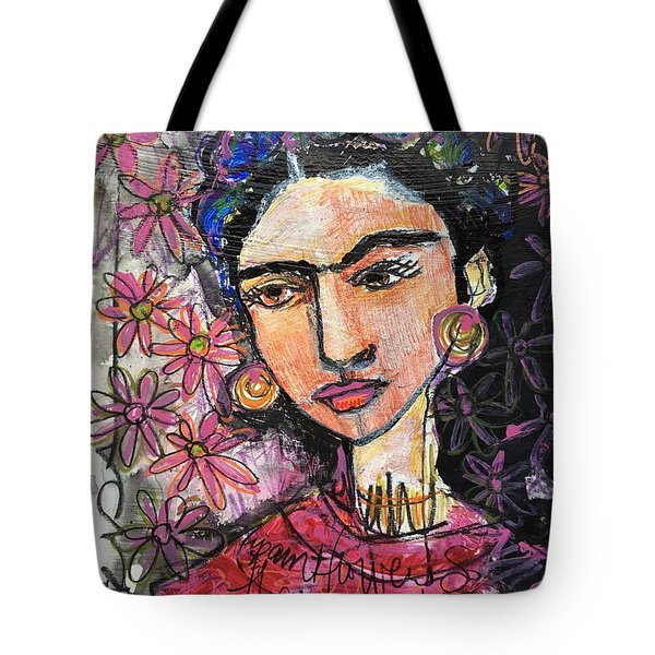 I Paint Flowers So They Will Not Die Tote Bag by Laurie Maves ART