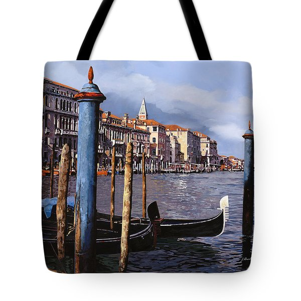 I Pali Blu Tote Bag by Guido Borelli