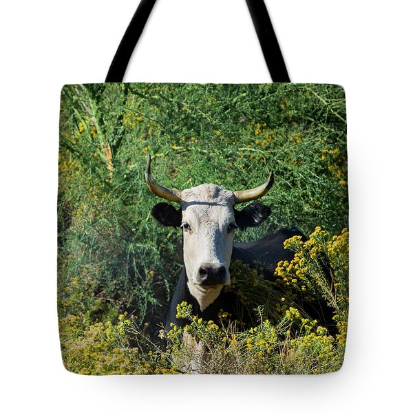 I Picked These For Moo Tote Bag