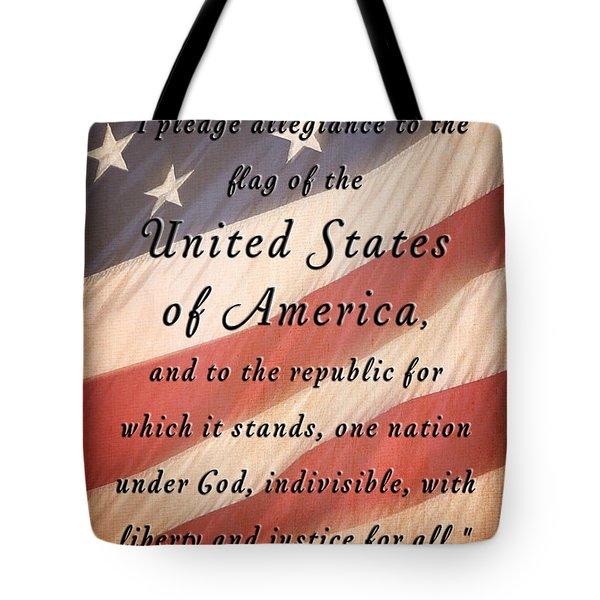 I Pledge Tote Bag