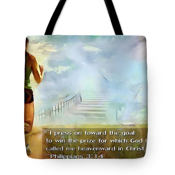 I Press - Female And Text Tote Bag