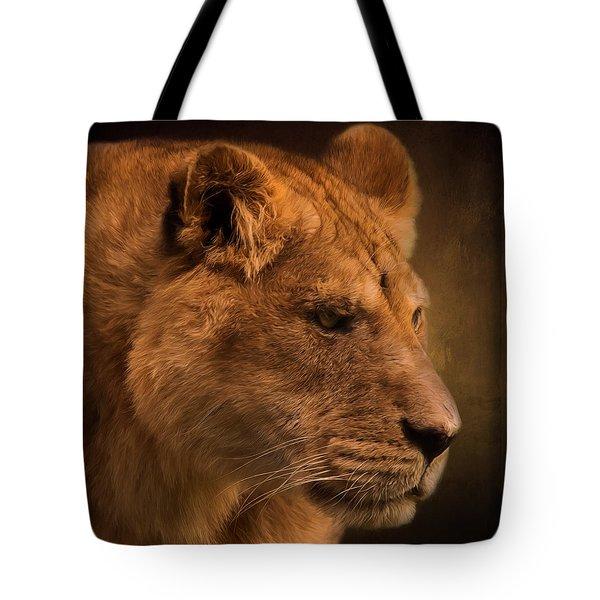 I Promise - Lion Art Tote Bag