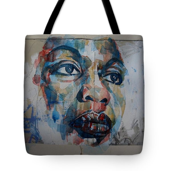 I Put A Spell On You - Nina Simone  Tote Bag