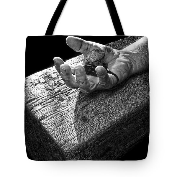I Reached Out To You Tote Bag