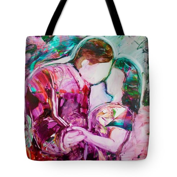 I Remember The First Dance Tote Bag