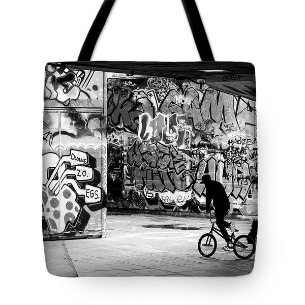 I Ride Alone Tote Bag