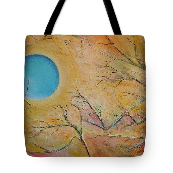 I Saw You Standing Alone Tote Bag by Dan Whittemore
