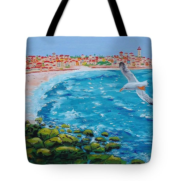 I See A Fish Tote Bag by Mike Caitham