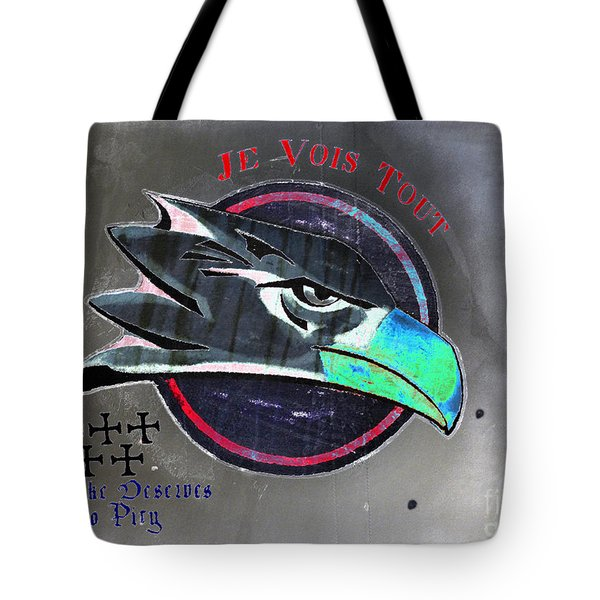 I See All Tote Bag by David Lee Thompson
