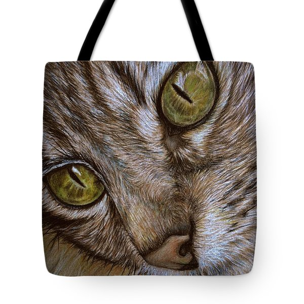 Tote Bag featuring the drawing I See by Heidi Kriel