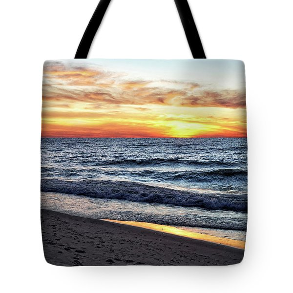 I See You In The Sunset Tote Bag by Kathi Mirto