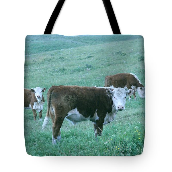 Tote Bag featuring the photograph I See You by Mary Mikawoz