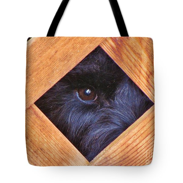 Look Closely  Tote Bag by Michele Penner