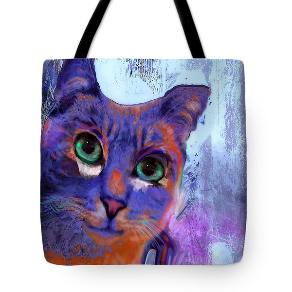 I See You Cat Tote Bag