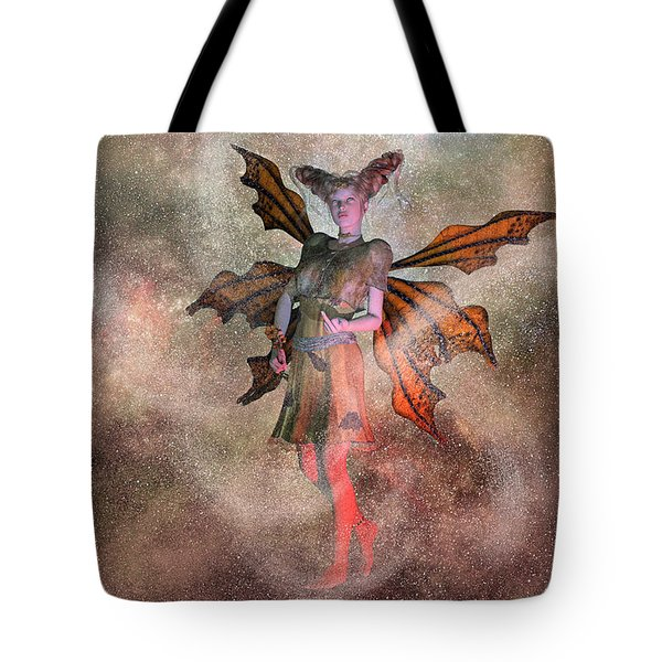 I See Your Fairy Dust And Raise You This Tote Bag by Betsy Knapp