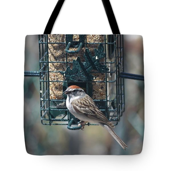 I Sing For My Supper Tote Bag